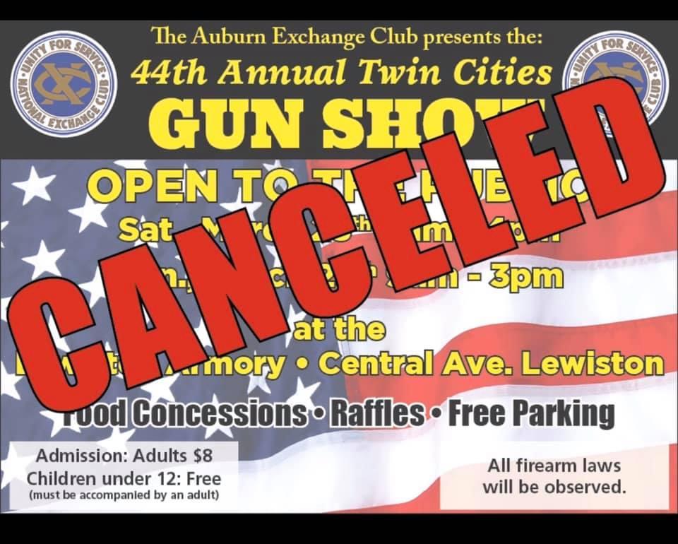 44th Annual Gun Show Cancelled